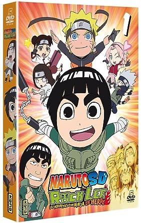 Amazon.com: Naruto SD Rock Lee : Les péripéties dun ninja ...