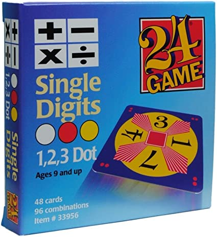 It's just an image of 24 Math Game Printable regarding challenge