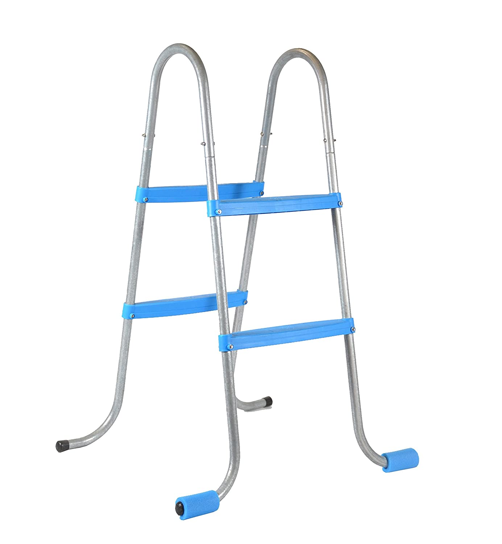 Piscinas Toi 4839 Escalera de 4 peldaños para Piscinas Desmontables Blanco 56x70x100 cm: Amazon.es: Jardín