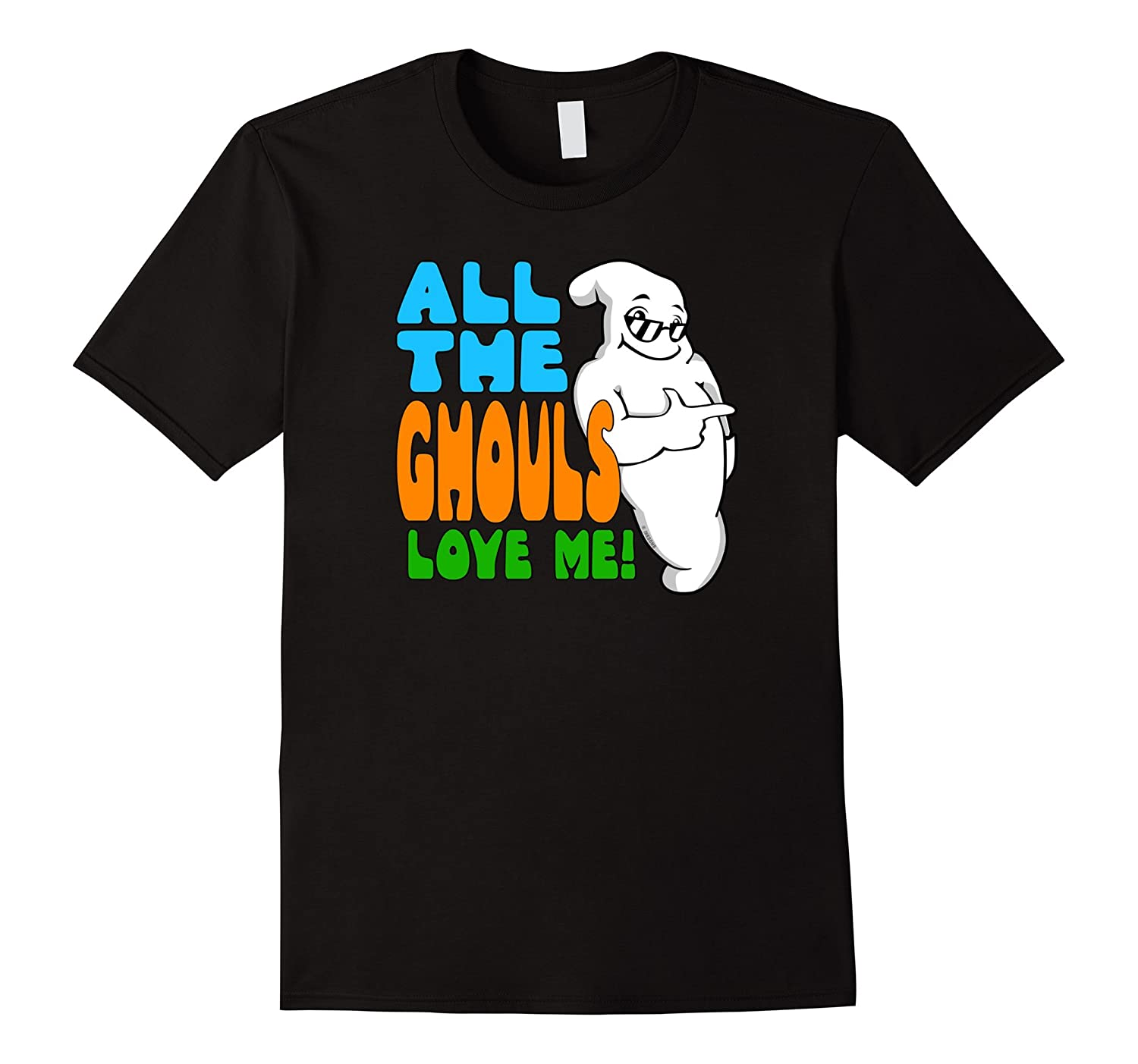 Cute Halloween Shirt for Boys and Men All The Ghouls Love Me-CL