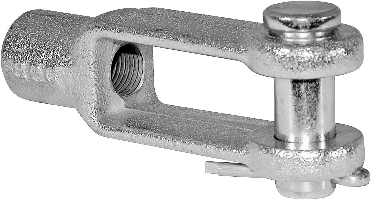 Zinc Plated Buyers Products B27086A38ZKT Clevis Pin Kit