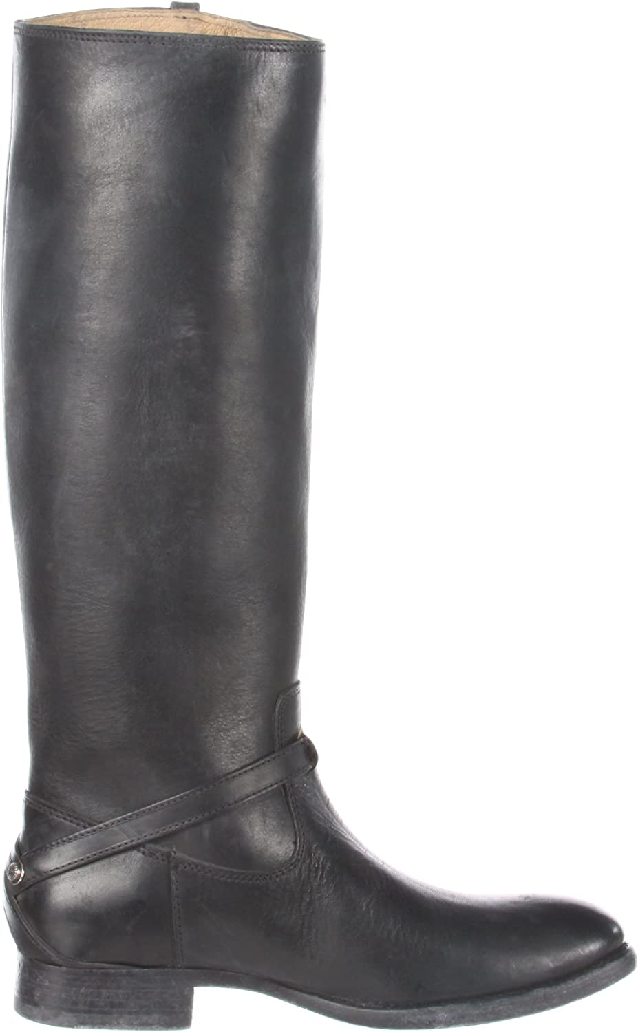 Frye Lindsay Plate, Boots femme Black Stone Antique Leather 76975