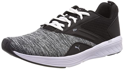bf0d1c4a6 Puma NRGY Comet, Zapatillas de Running Unisex Adults'o, Negro Black White,