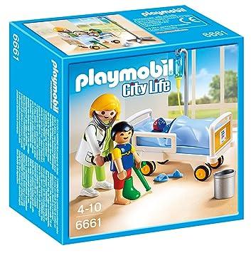 Playmobil - 6661 - Chambre d\'enfant avec mdecin: Amazon.fr: Jeux et ...