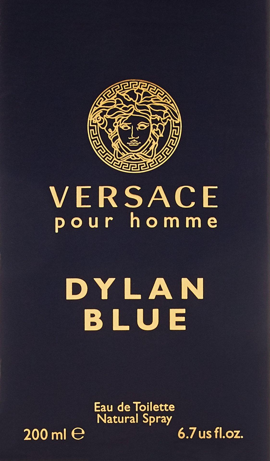 VERSACE Dylan Blue Pour Homme Eau De Toilette Spray Box Sealed, 6.7 Ounce by Versace (Image #3)