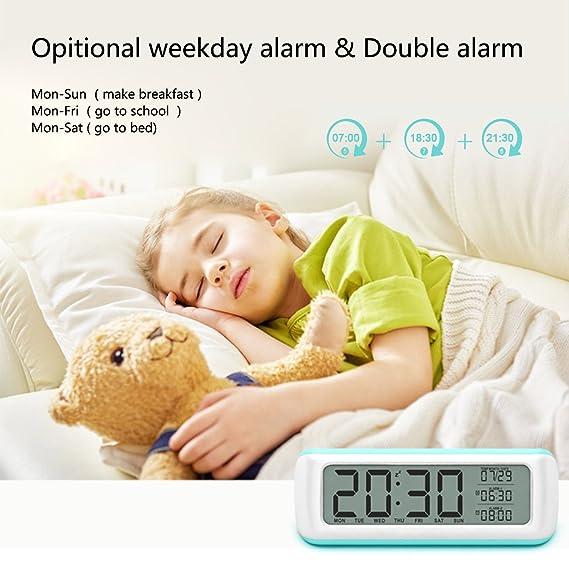 Reloj despertador, awakelion 5.5