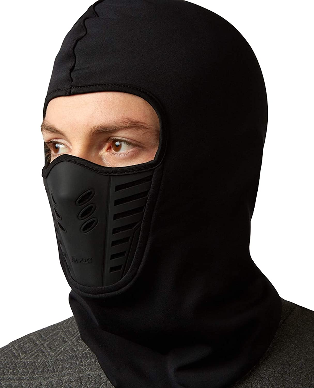 Self Pro Balaclava - Windproof Ski Mask - Cold Weather Face Motorcycle Mask - Ultimate Thermal Retention & Moisture Wicking w/Performance Soft Fleece Construction…