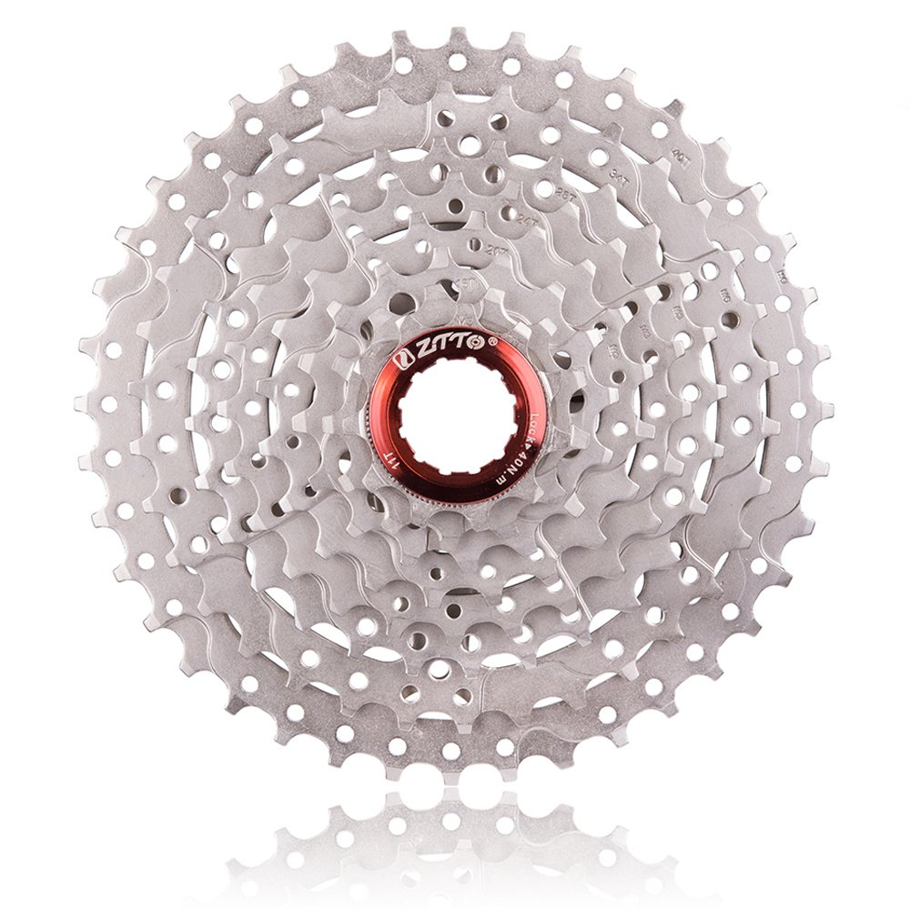 Ztto 8 Speed 11-40T Wide Ratio Cassette for Mountain Bikes