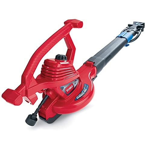 Toro 51621 UltraPlus Leaf Blower Vacuum, Variable-Speed up to 250 mph with Metal Impeller, 12 amp Renewed