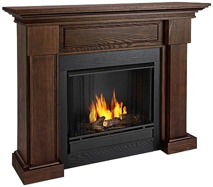 amazon com real flame hillcrest chestnut oak gel fuel fireplace rh amazon com fireplace gel fuel home depot fireplace gel fueled