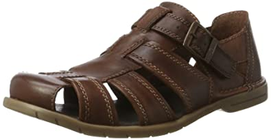 Mens Point 15 Closed Toe Sandals Camel Active 7SNzqI