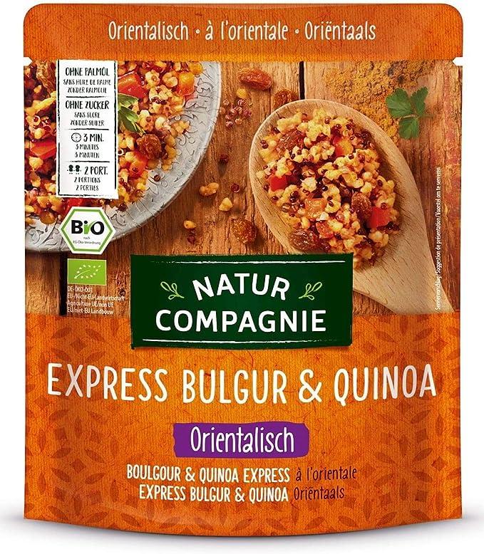 Granos (bulgur y quinua) con sabor oriental BIO 250 g - Natur ...