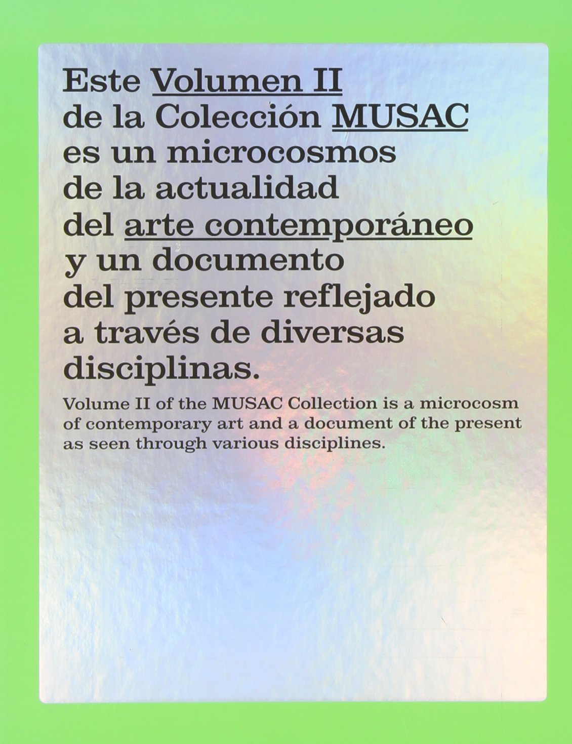 Read Online MUSAC COLLECTION: VOLUME II pdf epub