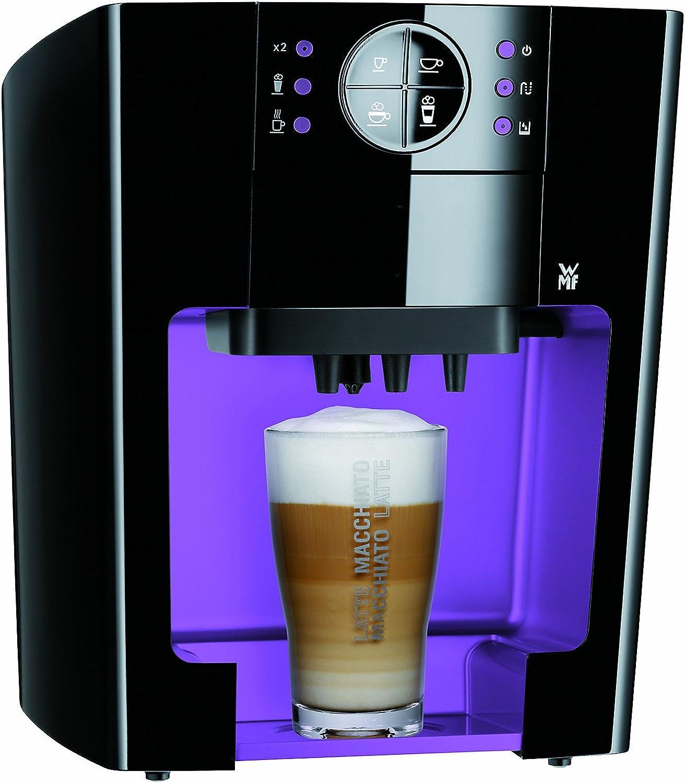 WMF 04 0010 0002 10 - Cafetera de monodosis, color negro y violeta ...