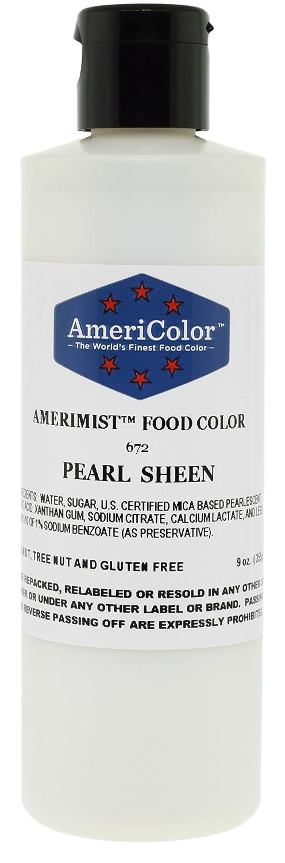 Amazon.com: AmeriColor AmeriMist Pearl Sheen Airbrush Food Color ...