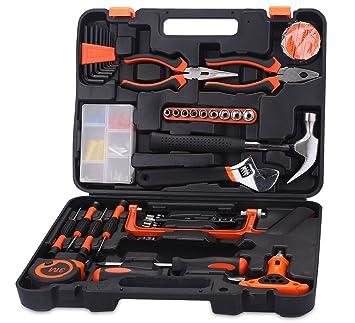 FLOUREON - Juego de herramientas, set de bricolaje con ...