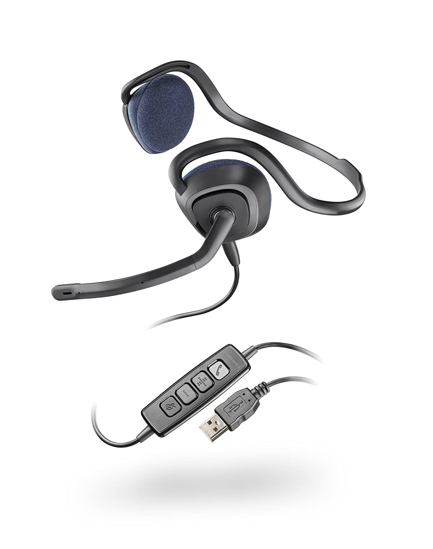 PLANTRONICS .Audio 648 ステレオUSBヘッドセット DSP/ノイズキャンセルマイク搭載 並行輸入品 B005VAORJO