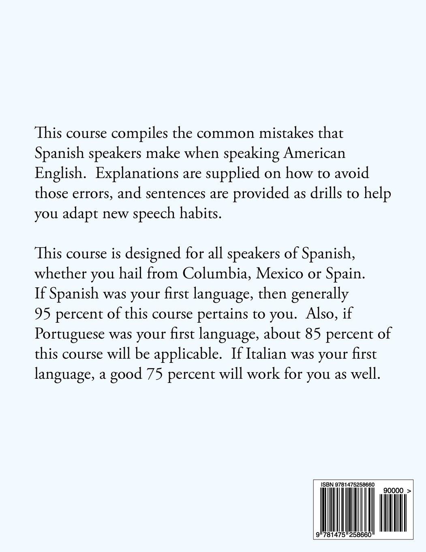 Amazon com accent reduction for spanish speakers 9781475258660 ivan borodin books