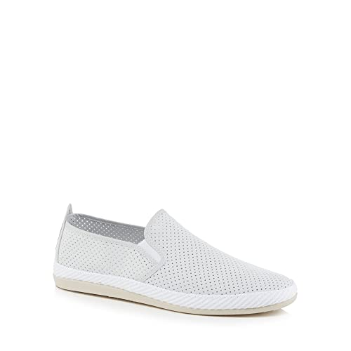 outlet store clearance lowest price Navy suedette 'Vendaval' slip on trainers KBod4C