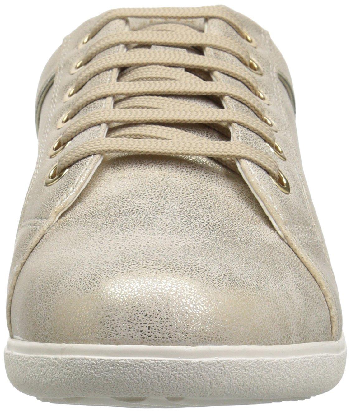Geox Women's EU Nihal 5 Sneaker B073HV5W7C 40 M EU Women's (10 US)|Light Taupe/Beige 2f2c33