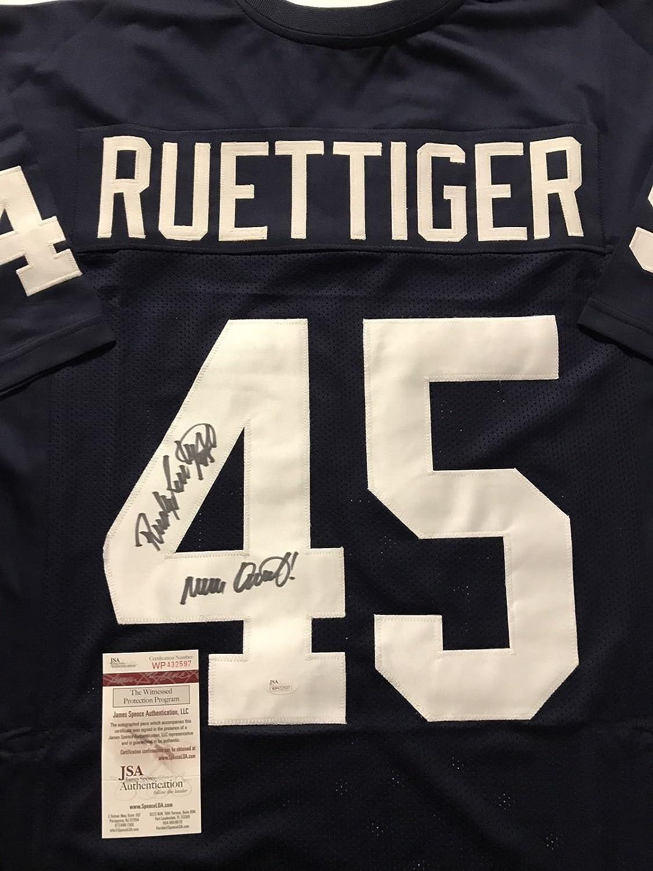 e709639d8869 Autographed Signed Rudy Ruettiger