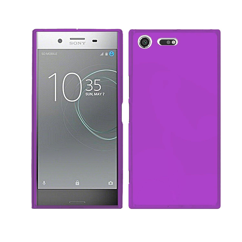 de Silicona Ultrafina y Flexible 5.46 Pulgadas TBOC/® Funda de Gel TPU Roja para Sony Xperia XZ Premium