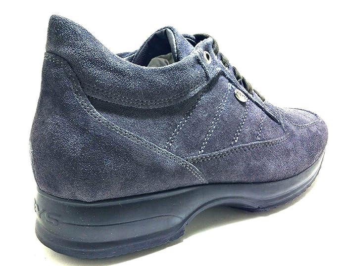 Keys Scarpe Donna Sneakers camoscio Grigio 1034 GRIGIO