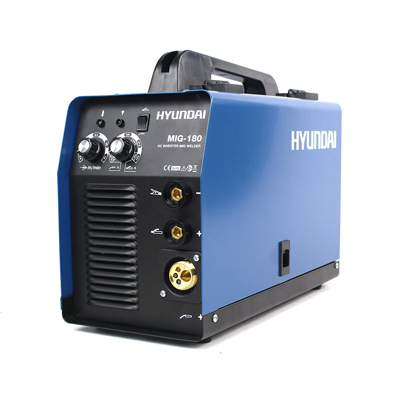 Hyundai MIG-180 Soldadora 230 V, Azul Marino y Negro: Amazon.es: Bricolaje y herramientas