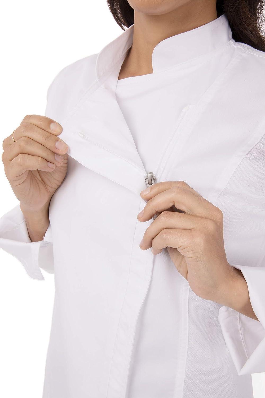 Black Details about  /Chef Works Women/'s Sofia Coat  X-Large