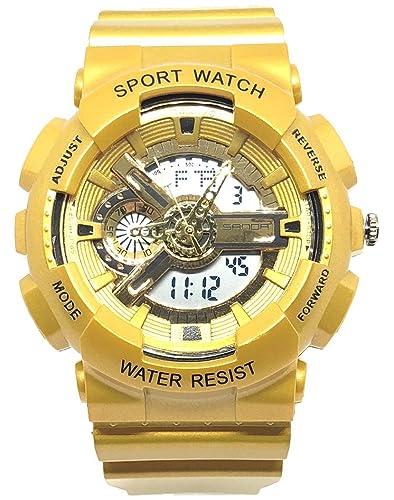 Eremiti Jewels - Reloj deportivo digital de cuarzo, con visualización del día, la fecha
