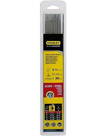 Stanley 460716 - Electrodos para soldadura (17 unidades, 1.6 mm de diámetro)