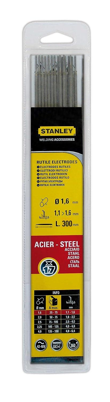 Stanley 460816/Steel Electrode Diameter 1.6/mm 50/Items
