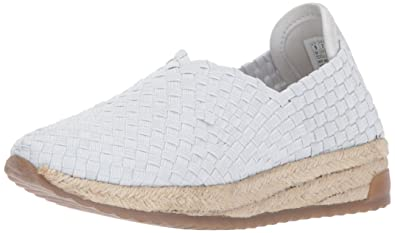 Skechers BOBS From Women's High Jump-Sporty Espadrille Platform,White,8.5 M US