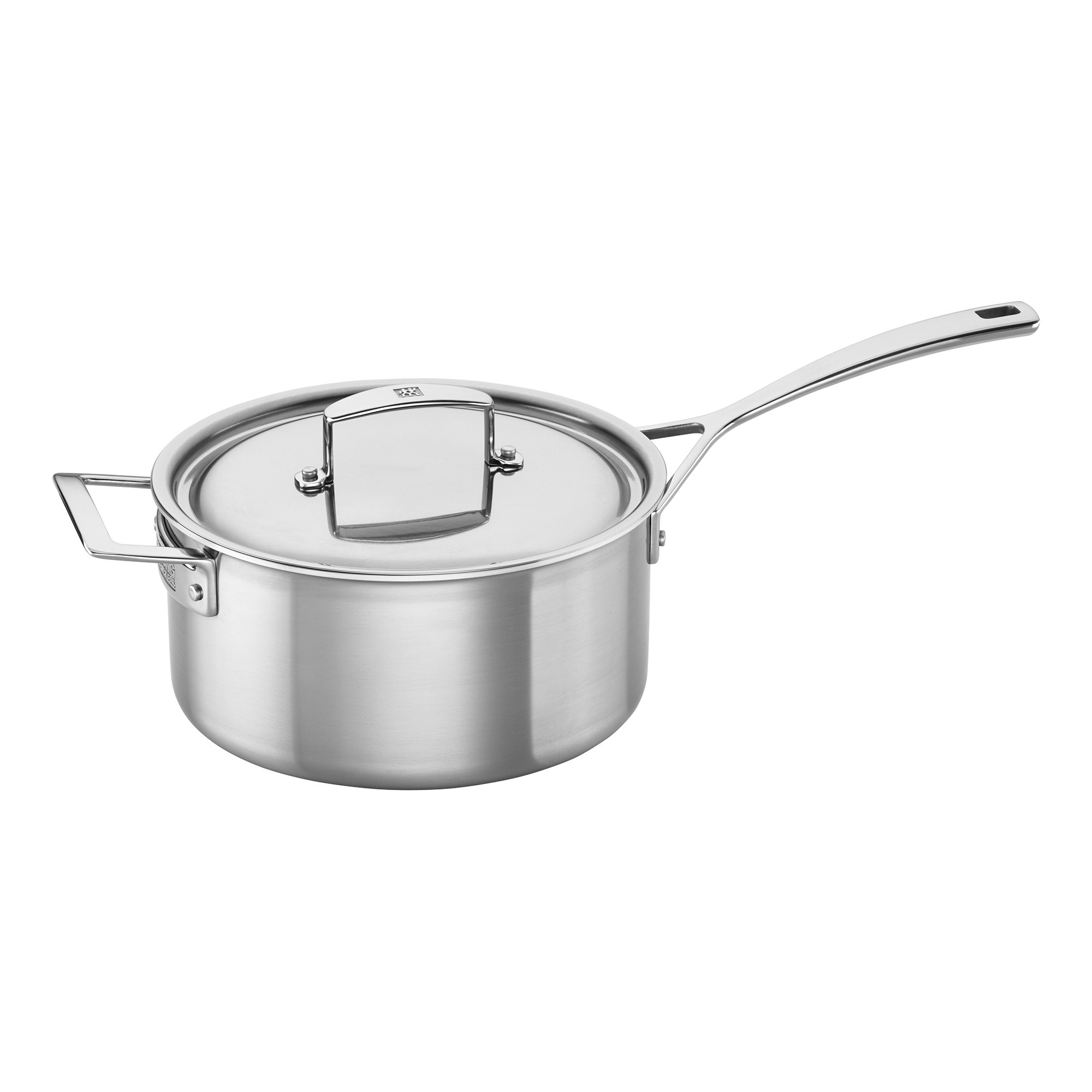 ZWILLING J.A. Henckels 66085-220 Aurora Saucepan, 4 Quart, Silver, Stainless Steel