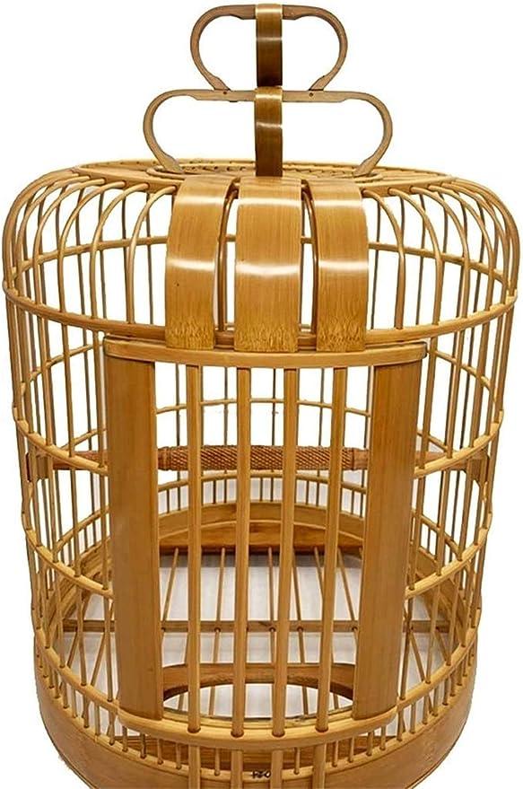 Jaula dpájaros duradera y ecológica, Jaula de vuelo para periquitos de pájaros decorativos Decoración para el hogar, Cubierta de la jaula para periquitos, Jaula de aves retro amigable para el medio am