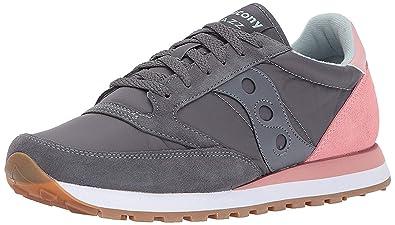 on sale c008c 1853e Saucony Originals Men's Jazz Original Sneaker, Charcoal Pink ...