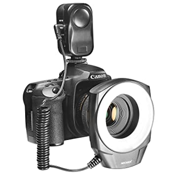 Buy Neewer 48 Marco LED Ring Light with 6 Adapter Rings for Macro