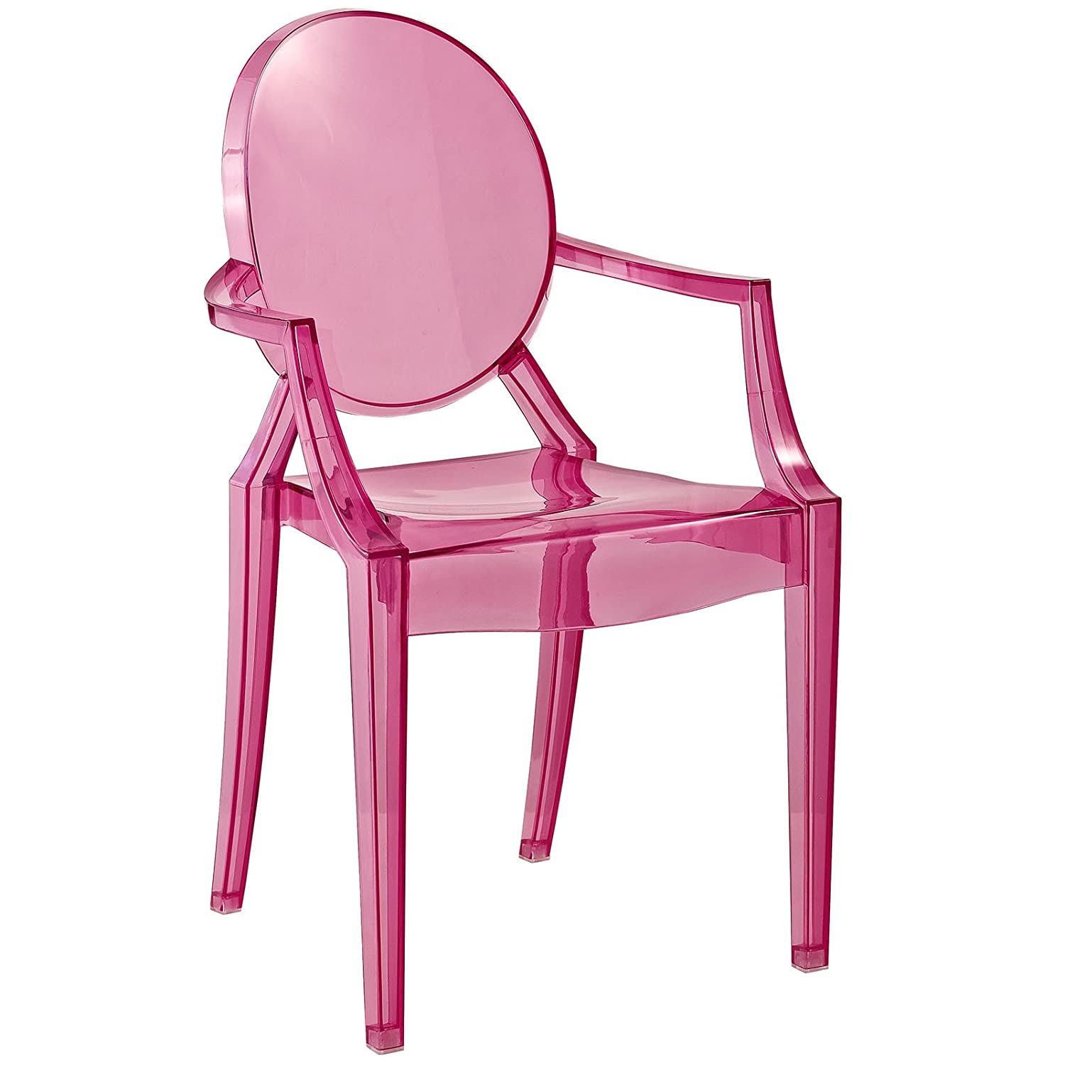 Modway Casper Kids Chair in Clear Modway Inc. EEI-121K-CLR