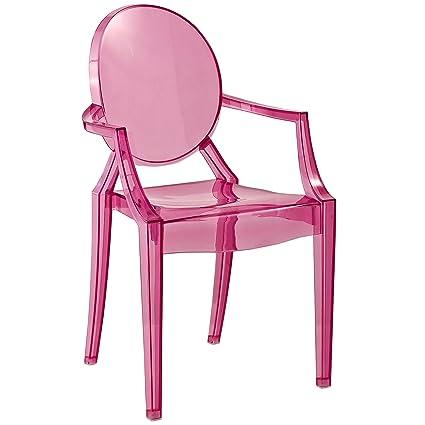 Modway Casper Kids Chair In Pink