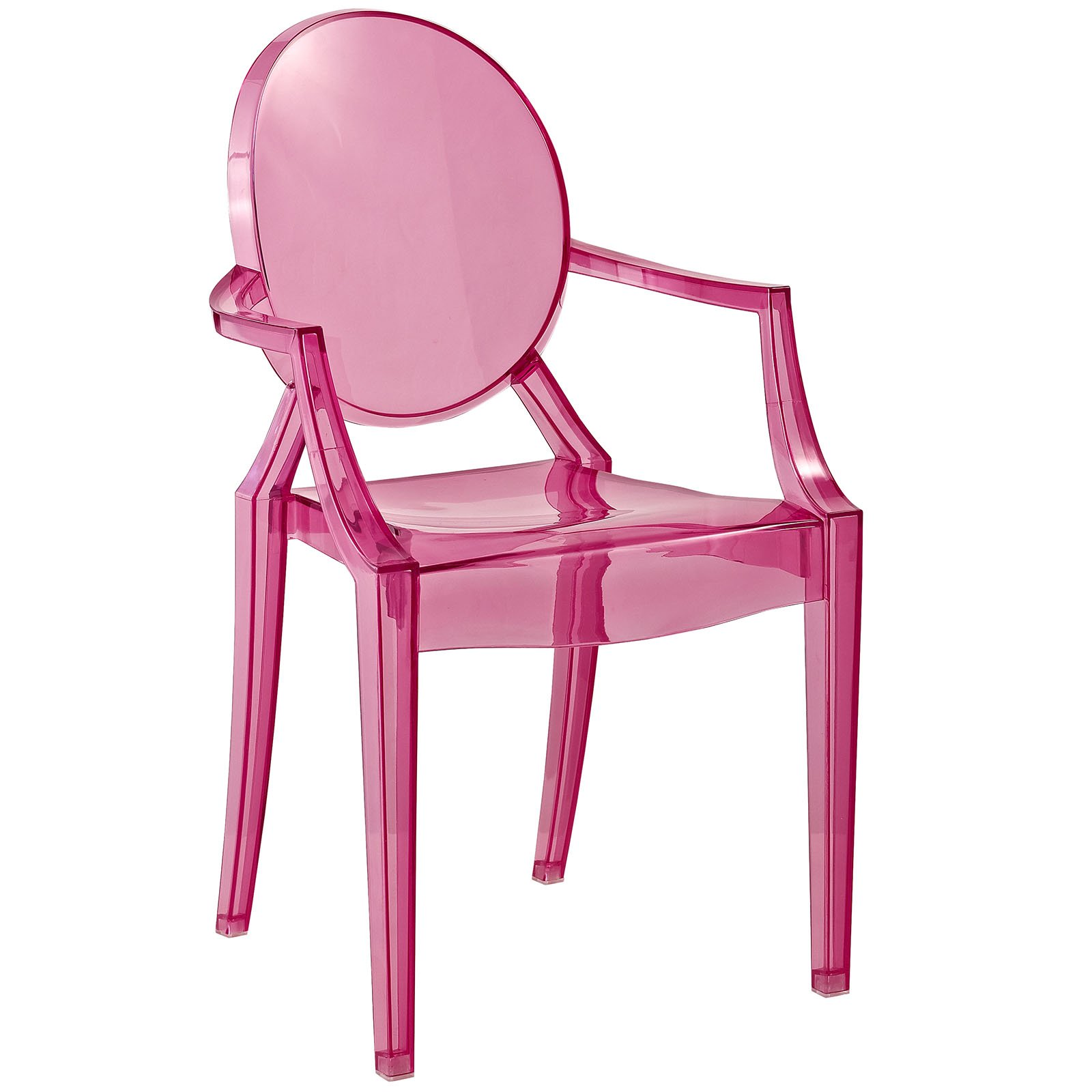Modway Casper Kids Chair in Pink