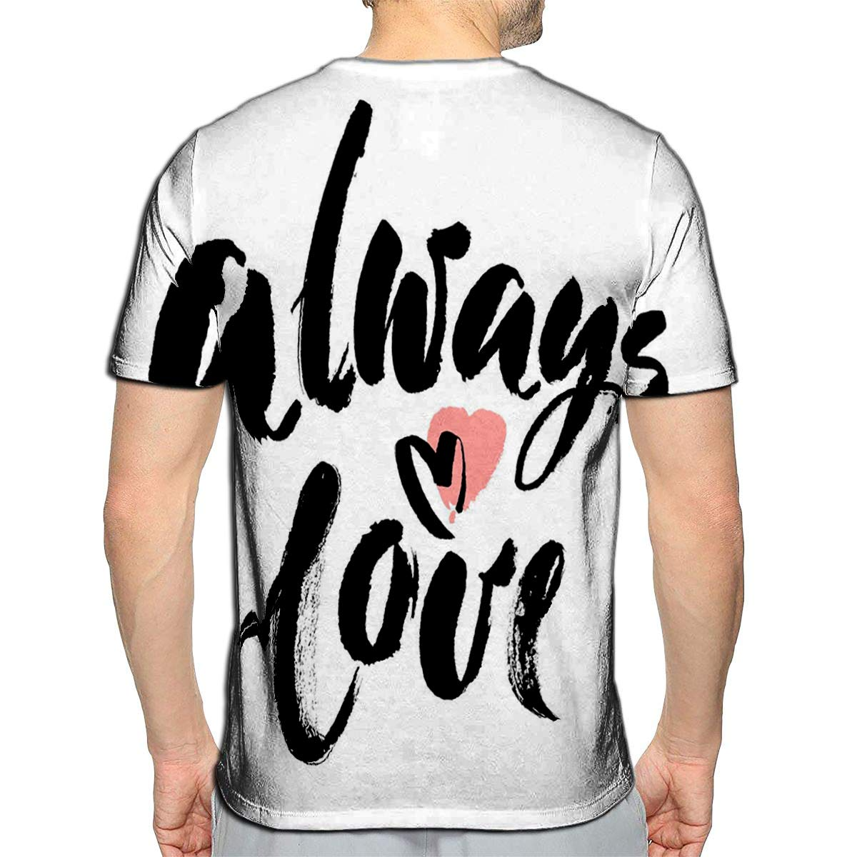 3D Printed T-Shirts to Me You are Perfect Valentines Day Short Sleeve Tops Tees