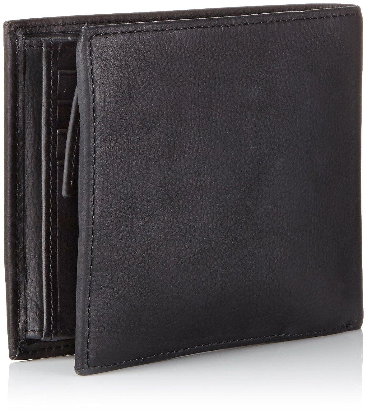 Tommy Hilfiger Johnson Trifold - Cartera para Hombre, Color Black 990, Talla 13x10x3 cm (B x H x T): Amazon.es: Zapatos y complementos