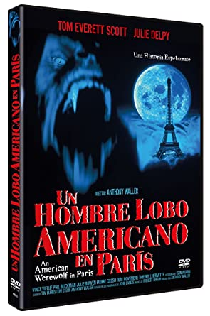 Un Hombre Lobo Americano En París dvd 1998 An American ...
