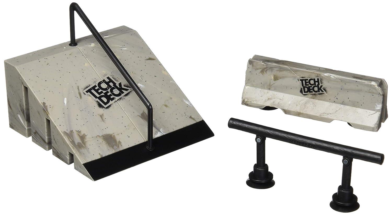 Tech Deck Build A Park – Kicker Rail Flatbar and Barrier – Ramps Board and Bikes