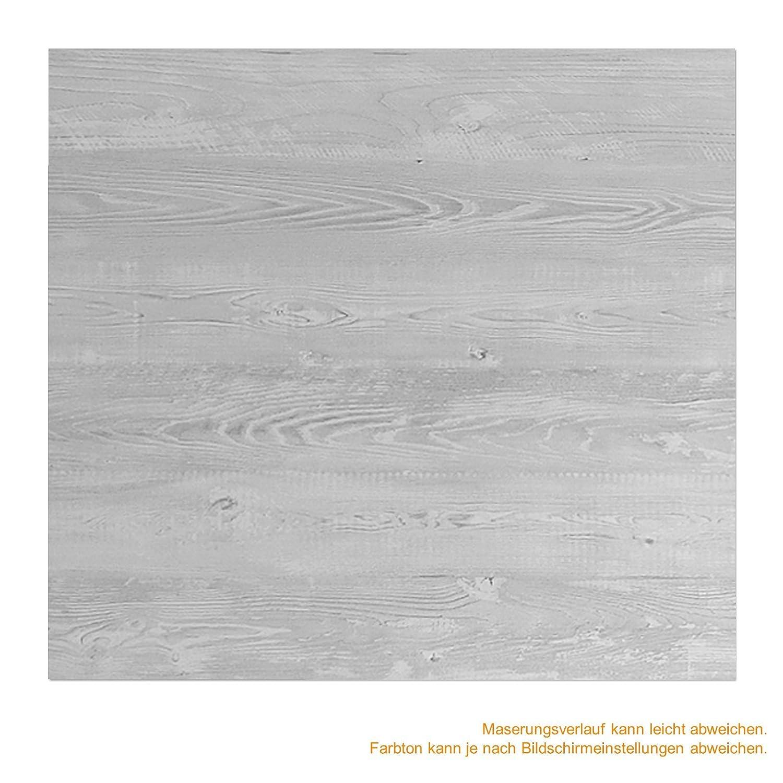Softclose inova Holz-Schiebet/ür 880 x 2035 mm Pinie Cascina Alu Komplettset mit Lauf-Schiene und Griffmuschel inkl