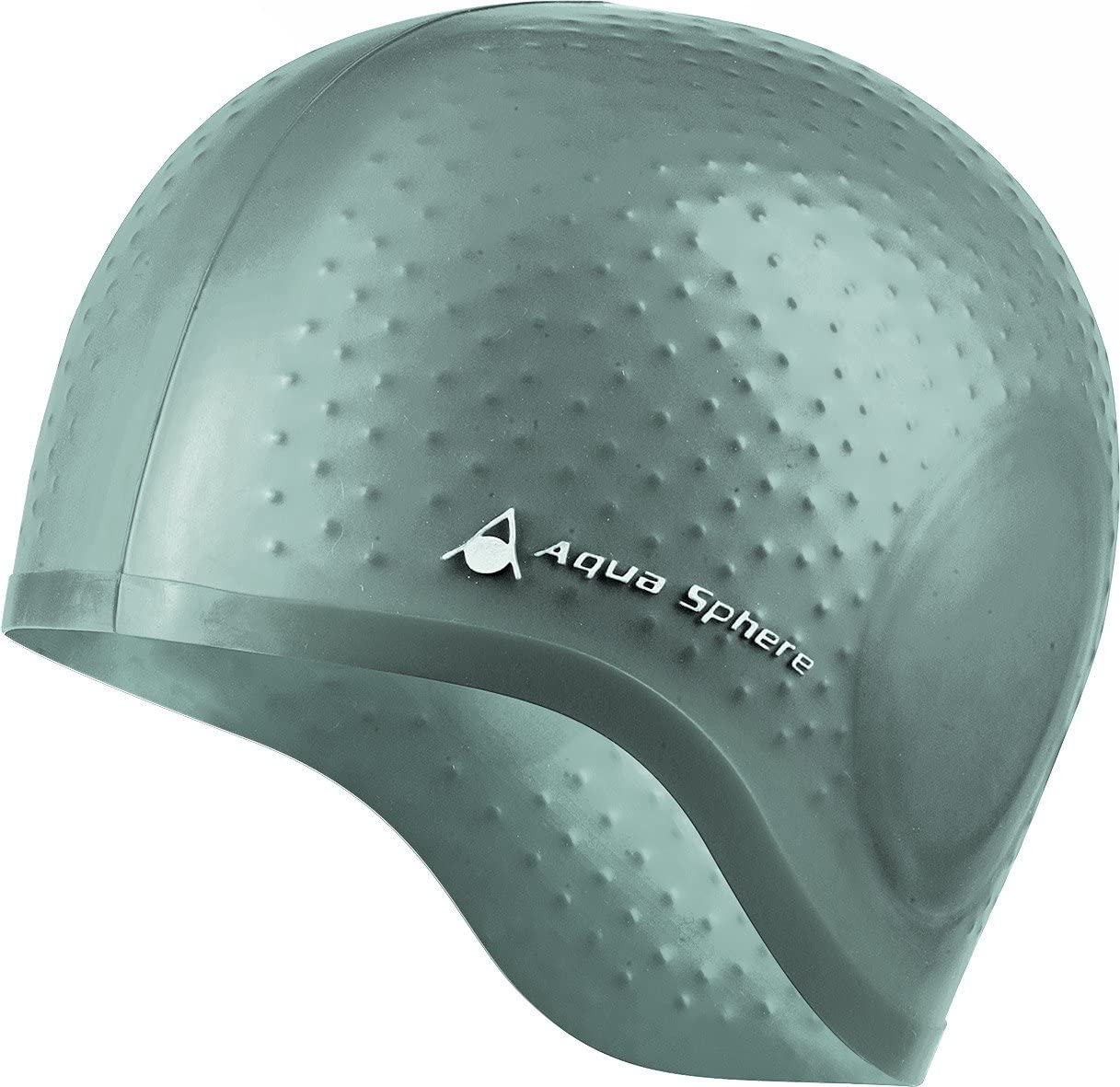 Aqua Sphere Aqua Glide 20919S - Gorro de natación (silicona) color Plateado: Amazon.es: Deportes y aire libre