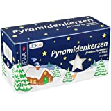 Pyramid Candles Pack of 50 White