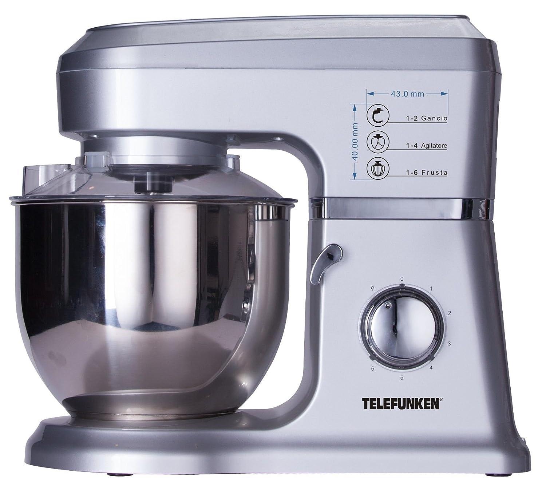 Telefunken M04319 Impastatrice Professionali, 1000 watts