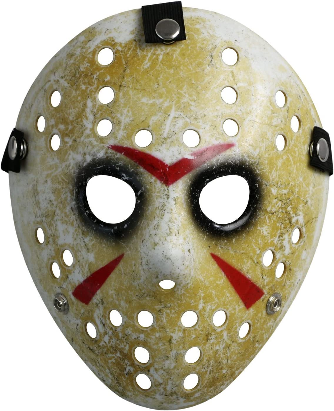 Friday The 13th Costume Prop Hockey Mask Jason Kid Size For Halloween Scare New