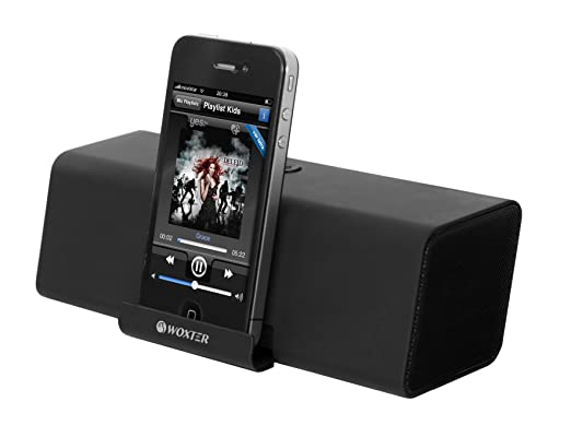 Woxter AP26-009 - Altavoces estéreo portátiles de 10 W, color negro: Amazon.es: Informática